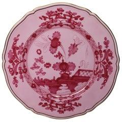 Richard Ginori Oriente Italiano Porpora Pink Charger Plate
