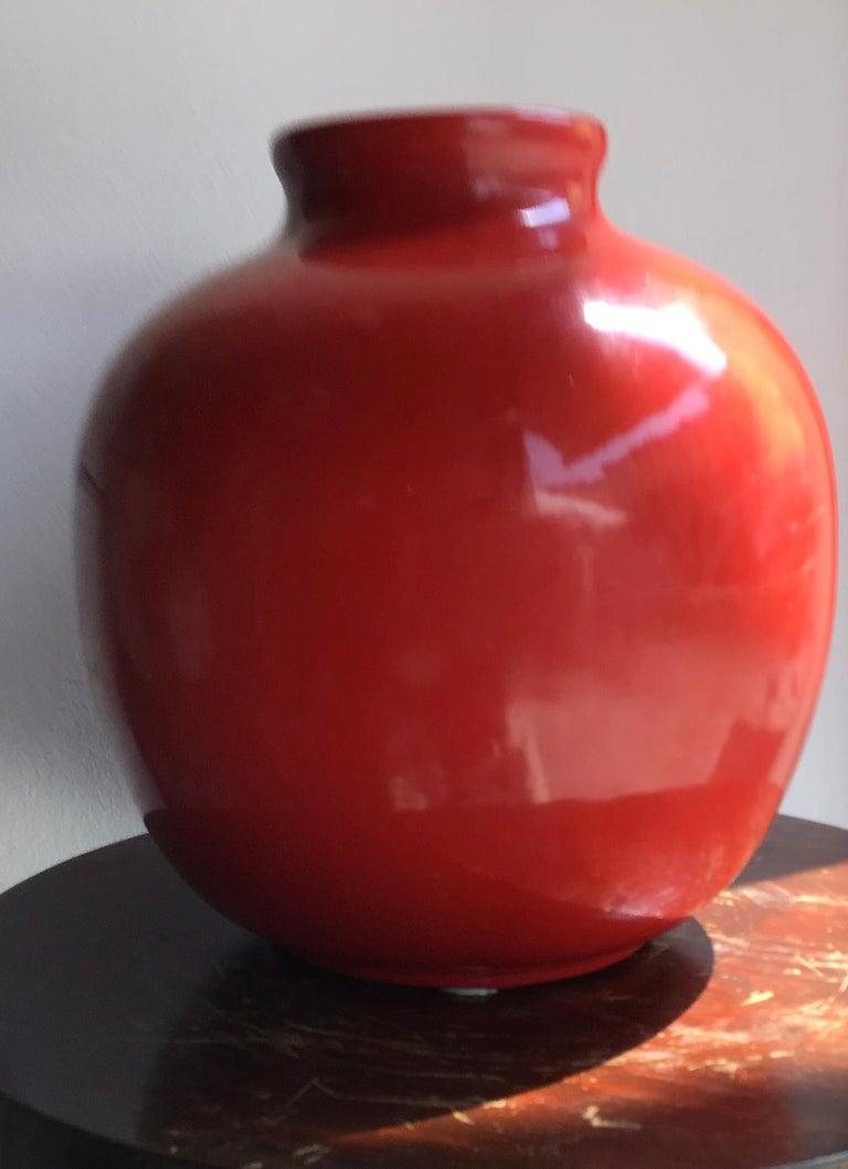 Richard Ginori vase Giovanni Gariboldi ceramic, 1950, Italy.