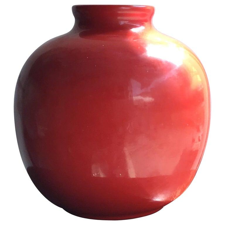 Richard Ginori Vase Giovanni Gariboldi Ceramic, 1950, Italy For Sale