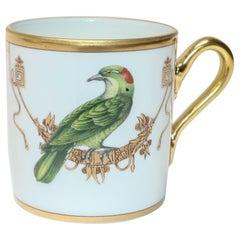 Richard Ginori Voliere Coucou Didrie Coffee Cup