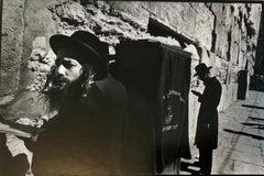 Jerusalem 1967 Vintage Silver Gelatin Photograph Western Wall Kotel Hamaaravi