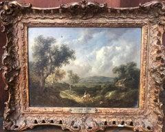 Beautiful 19th century Oil on Panel Landscape by Richard Hilder
