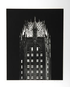 General Electric Building, Etching by Richard Haas
