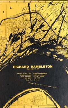 Richard Hambleton poster 1983 (shadowman)
