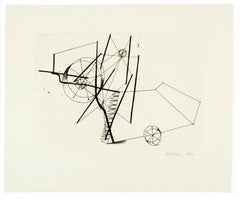 Reaper (a) Richard Hamilton geometric abstraction etching