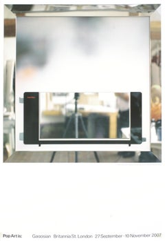 "Richard Hamilton-Toaster II-39.5"" x 27""-Poster-2007-Pop Art-Gray-dada"