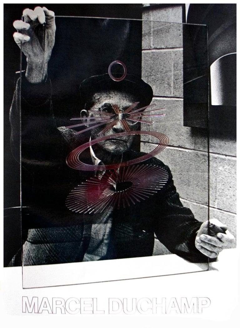 The Oculist Witness-Marcel Duchamp - Print by Richard Hamilton