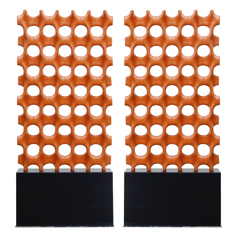 Richard Harvey Sculpta-Grille Model C-20 Freestanding Room Divider, 1959