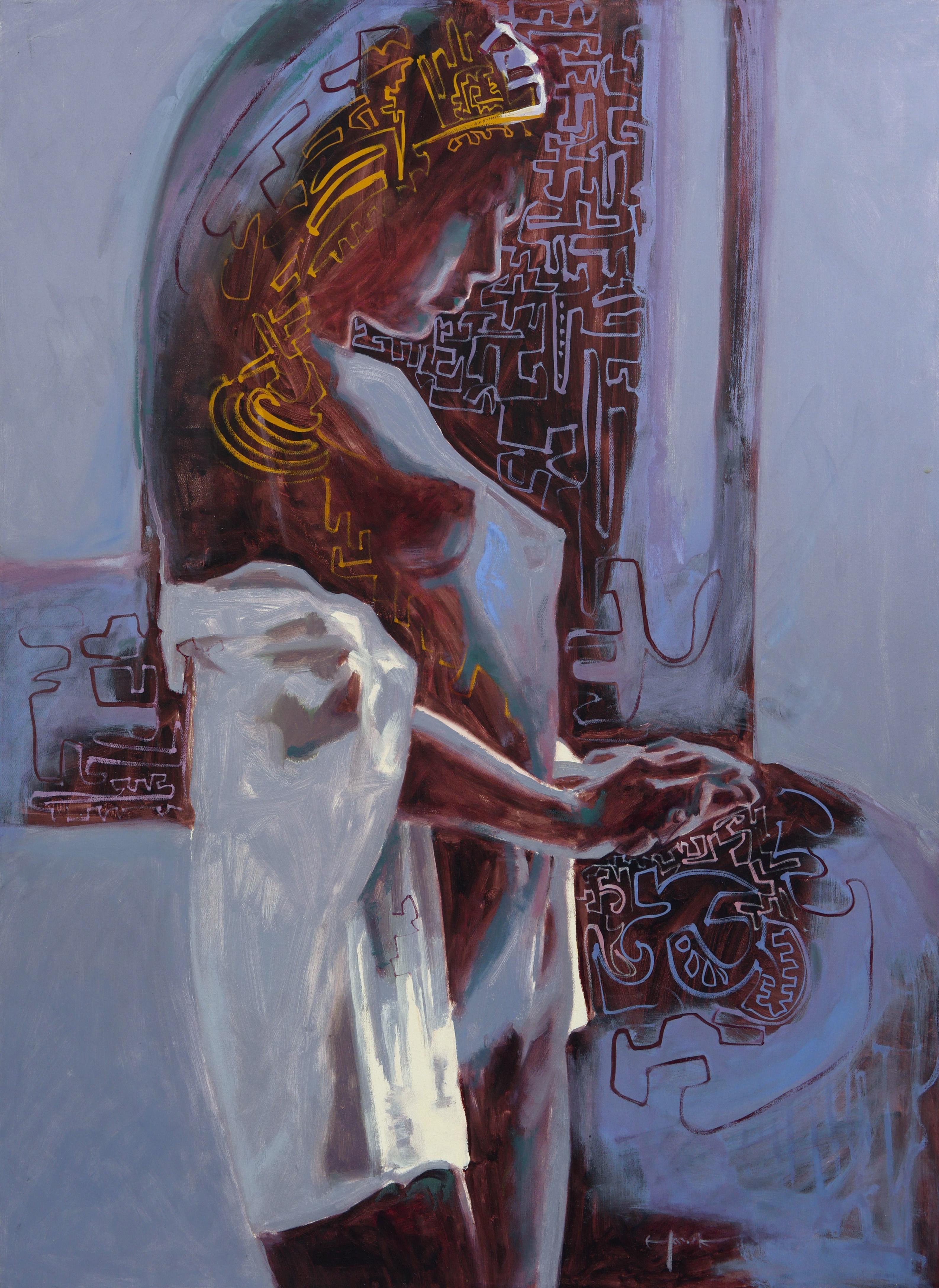 Silence (Standing Nude Woman )
