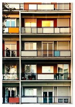 49 Via Dezza at Sunset, Milan - Conceptual Architectural Color Photography