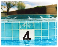 Four Feet, El Morocco Pool, Las Vegas, Nevada - American Color Photography
