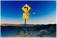 5MPH, Rhyolite, Nevada - American Landscape Color Photography