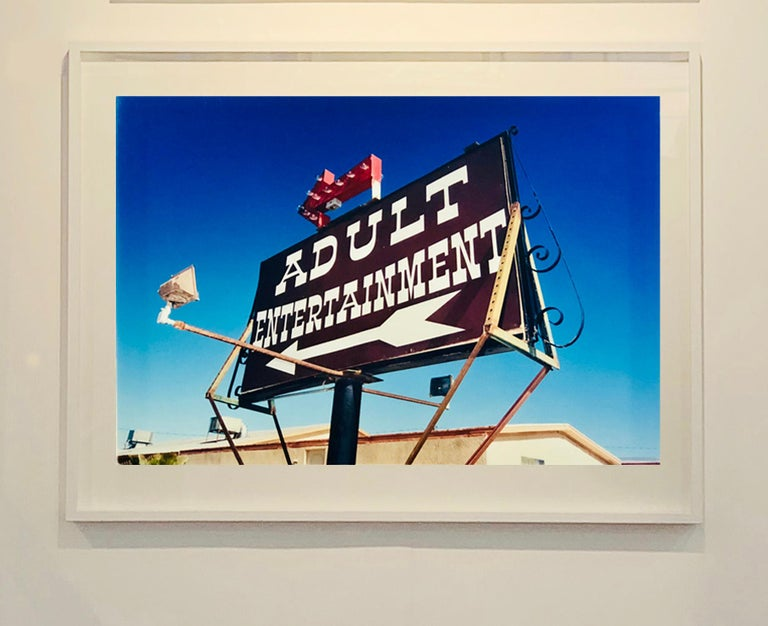 Adult Entertainment, Beatty, Nevada - Americana Pop Art Color Photography For Sale 1