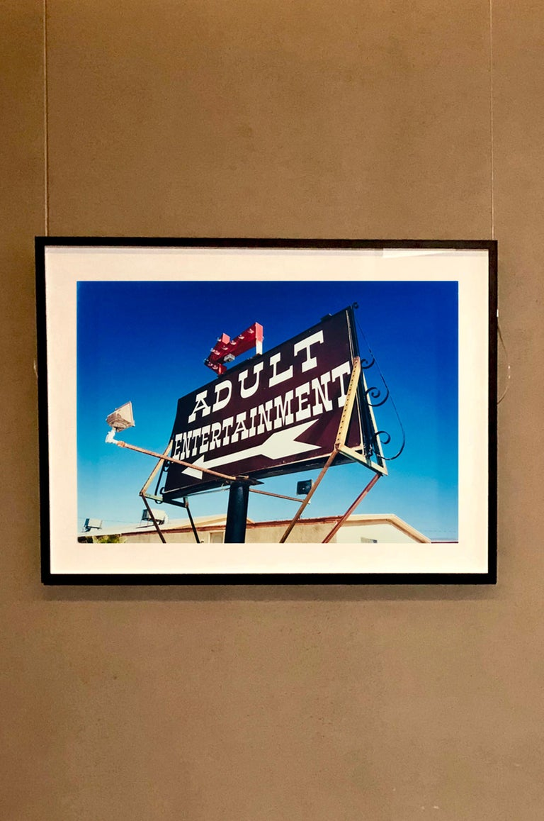 Adult Entertainment, Beatty, Nevada - Americana Pop Art Color Photography For Sale 2