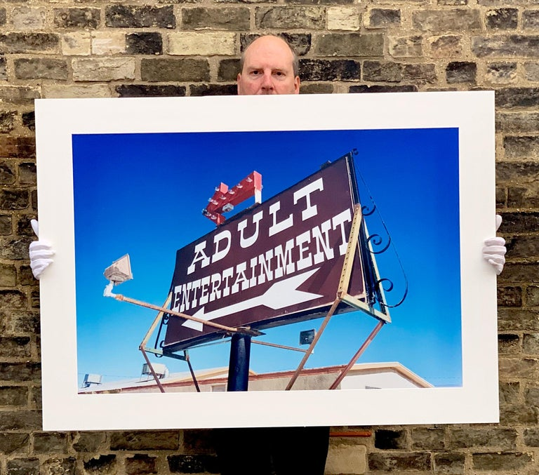 Adult Entertainment, Beatty, Nevada - Americana Pop Art Color Photography For Sale 3
