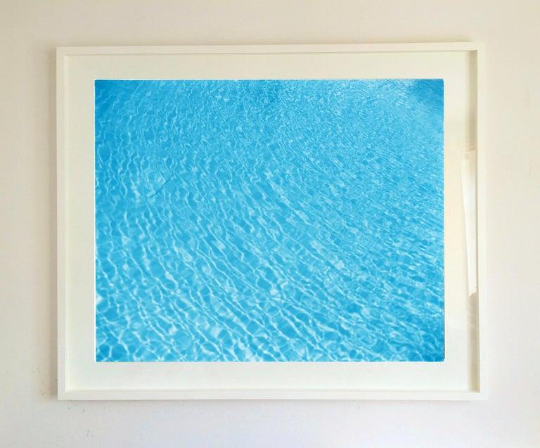 Algiers Pool, Las Vegas, Nevada - Blue Swimming Pool Water Color Photography