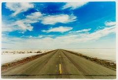 Approach Road to Bonneville Salt Flats, Bonneville, Utah
