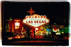Arriving, Las Vegas - American Sign Color Photography