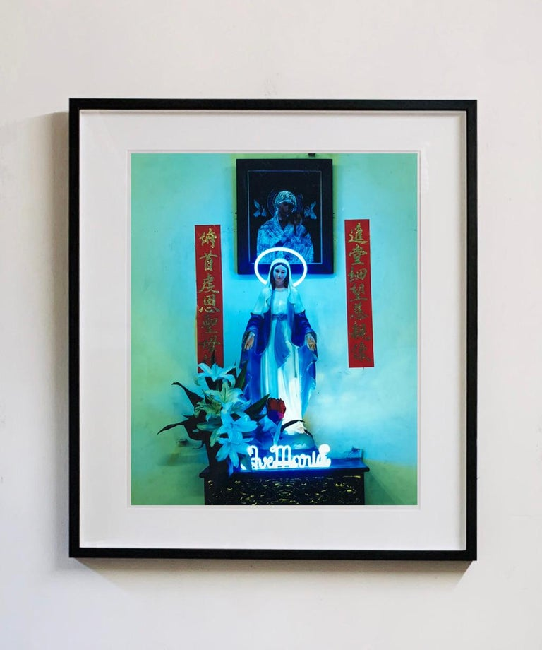 Ave Maria, Ho Chi Minh City - Religious Kitsch Contemporary Color Photography For Sale 1