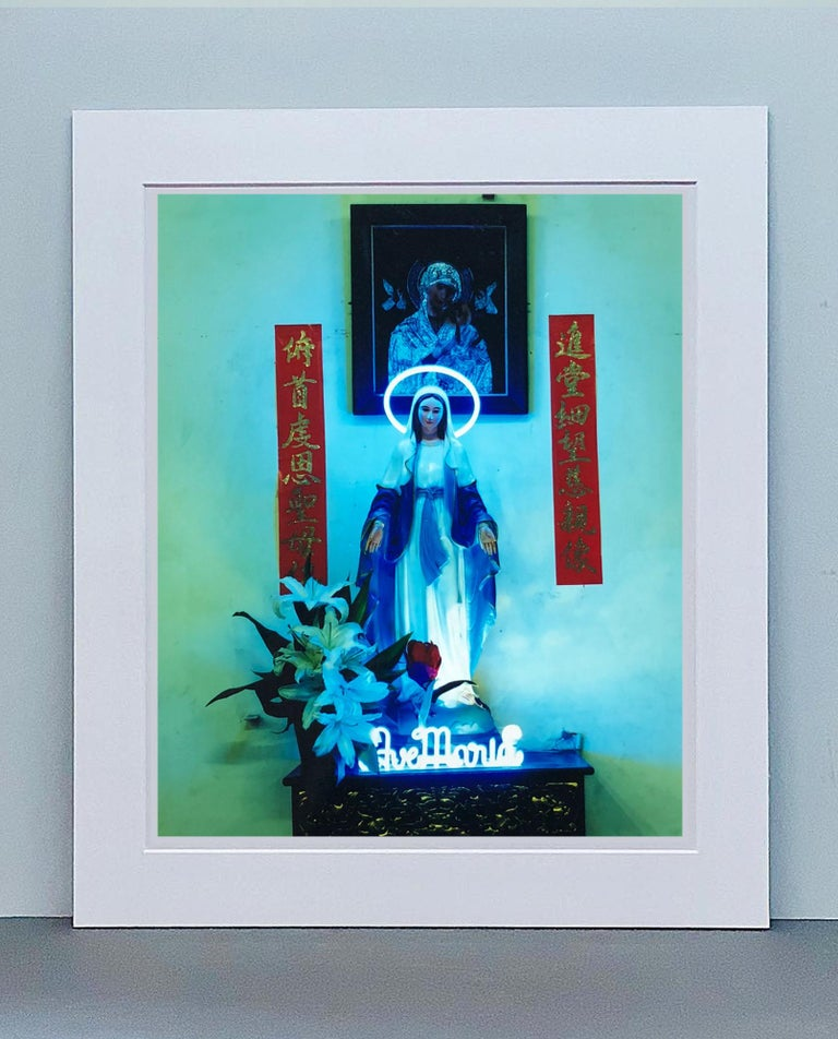 Ave Maria, Ho Chi Minh City - Religious Kitsch Contemporary Color Photography For Sale 3
