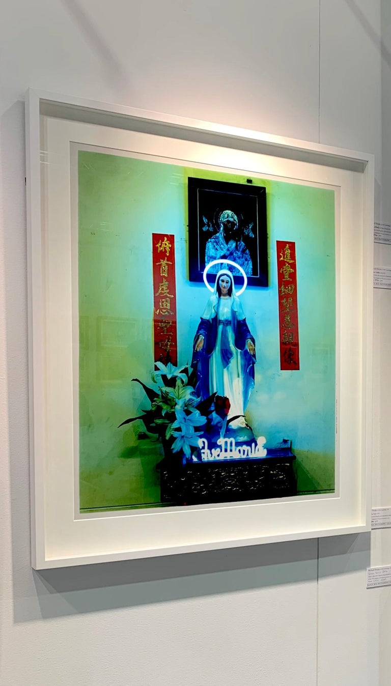 Ave Maria, Ho Chi Minh City - Religious Kitsch Contemporary Color Photography For Sale 6