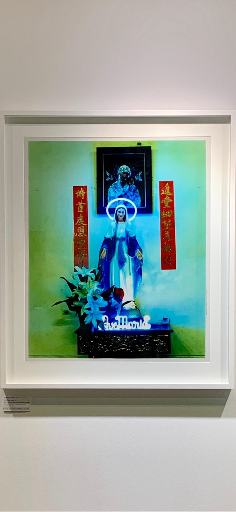 Ave Maria, Ho Chi Minh City - Religious Kitsch Contemporary Color Photography For Sale 8