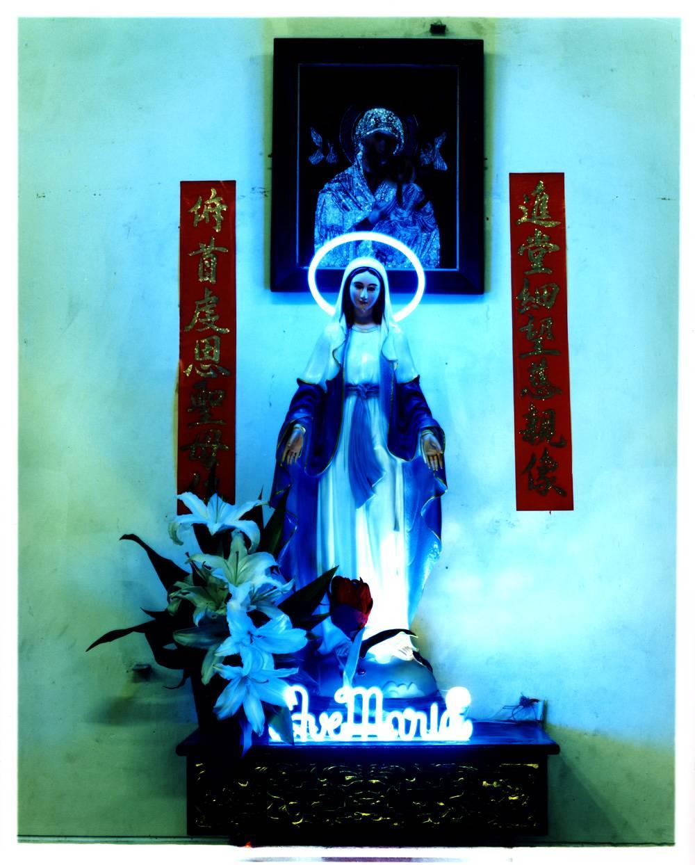 Ave Maria, Ho Chi Minh City - Religious Kitsch Contemporary Color Photography