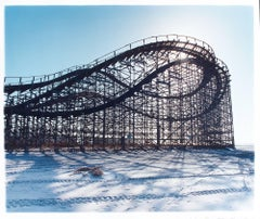 Beached Rollercoaster, Wildwood, New Jersey - Architectural Color Photography