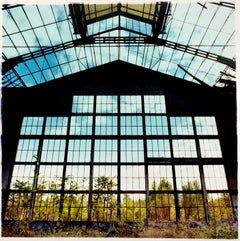 Big Window, Lambrate, Milan - Industrial architecture Italian color photography