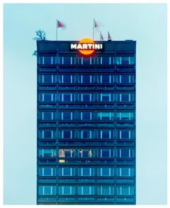Blue Martini, Milan - Architectural Color Photography