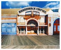 Boardwalk Empire in the Sun, Atlantic City, New Jersey - American Color Photo