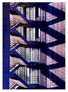 Brutalist Symphony II, London - Conceptual, architectural, color photography