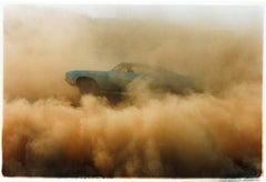 Buick in the Dust I, Hemsby, Norfolk - Car, color photography