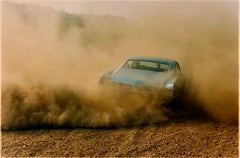 Buick in the Dust III, Hemsby, Norfolk - Car, color photography