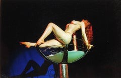 Burlesque Series, Catherine D'Lish in Champagne Coupe II Tease-O-Rama, Hollywood