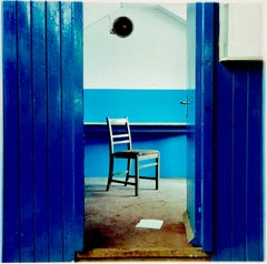 Chair, Northwich - Vintage Interior Color Photography