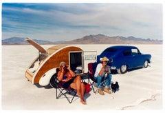 Christine's '52 Henry J & Teardrop Caravan, Bonneville, Utah
