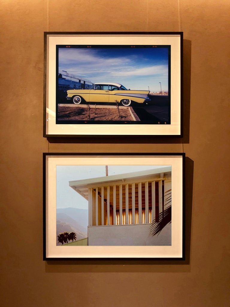 Colony at Dusk, Palm Springs, California - Mid-Century Architecture Photography For Sale 1