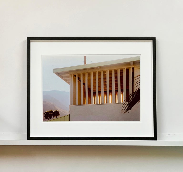 Colony at Dusk, Palm Springs, California - Mid-Century Architecture Photography For Sale 3