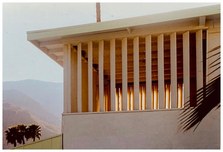 Richard Heeps Color Photograph - Colony at Dusk, Palm Springs, California - Mid-Century Architecture Photography