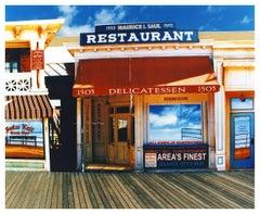 Delicatessen in the Sun, Atlantic City, New Jersey - American Color Photography