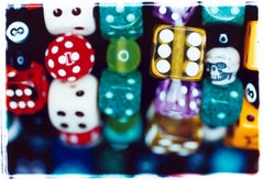Dice II, Hemsby, Norfolk - Pop art contemporary color photography