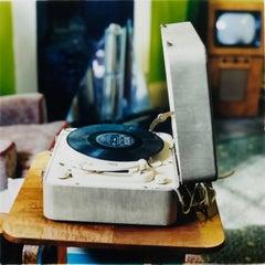 Disc Jockey, Stockton-on-Tees - Retro music color photography