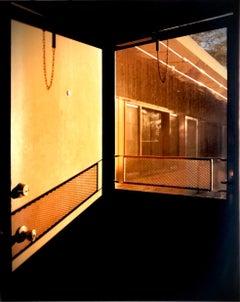 Door - Lariat Motel - Mid-century American color photography