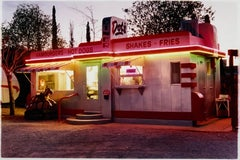 Dot's Diner, Bisbee, Arizona - Contemporary American Color Photography