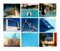 Dream in Colour - Pool Installation - American Blue Color Photography