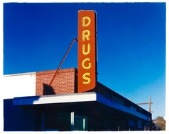 'Drug Store', Ely, Nevada - After the Gold Rush Series - Pop Art Color Photo
