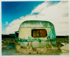 Eroded Trailer, Bombay Beach, Salton Sea, California