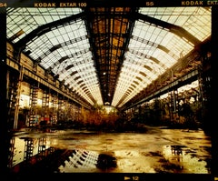 Factory Spine, Lambrate, Milan - Architectural urban color photography