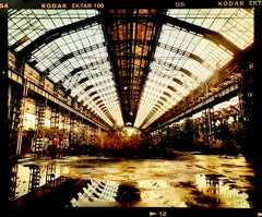 Factory Spine, Lambrate, Milan - Italian urban architectural color photography